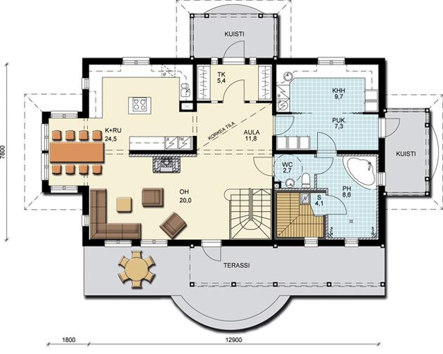 Дома серии романтик 201 этаж дома 1