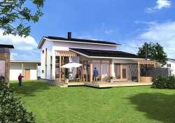 Комнаты дома жилые : 5-6. финские дома. каркасный дом серии регуляр. дом.